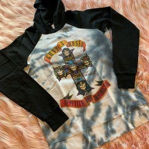 Guns and roses hoodie